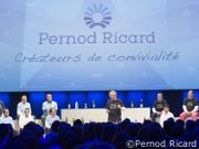 Anticipation d'un retour à la croissance chez Pernod Ricard